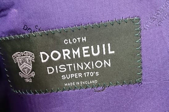 オーダースーツ Dormeuil Distinxion